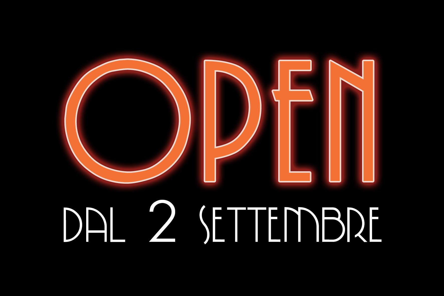 Open 2 settembre